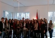 Ekonomikos fakulteto studentai ir dėstytojai lankėsi Valstybės pažinimo centre, įsikūrusiame Lietuvos Respublikos Prezidentūroje