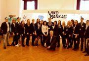 """Verslo praktinio mokymo firmos """"VIKO Drauda"""" ir """"VIKO Bankas"""" dalyvavo 20-oje tarptautinėje VPMF mugėje"""